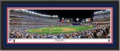 NY Yankees Number 42 Retires Framed Panoramic Poster