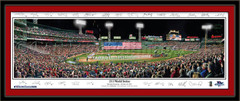 Boston Opening Ceremonies 2013 World Series With Signatures Picture
