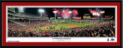 Boston Red Sox 2013 World Series Champions Celebration Picture matted