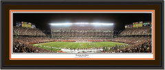 Cleveland Browns Stadium The Browns Are Back Panoramic Print