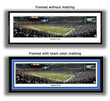 Detroit Lions Inaugural Game at Ford Field Panoramic Print