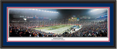New England Patriots Homeland Defense Panoramic Print