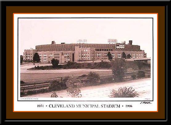 Cleveland Browns Municipal Stadium Photo