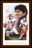 Cleveland Browns Bernie Kosar Art Print