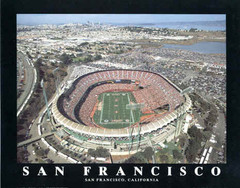 San Francisco 49ers 3COM Candlestick Point Aerial Photo