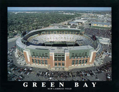 Green Bay Packers Lambeau Fields Aerial Photo