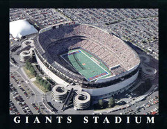 New York Giants - Giants Stadium Aerial Photo