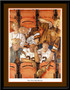 Cleveland Browns How Bout Them Browns Framed Art Print