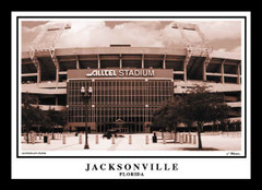 Jacksonville Jaguars Alltel Stadium Framed Print