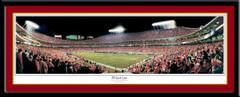 Kansas City Chiefs Arrowhead Stadium Panoramic Poster 35 Yard Line