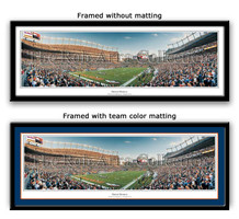 Denver Broncos Mile High Stadium Framed Picture