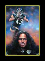 Pittsburgh Steelers - Troy Polamalu Art Print
