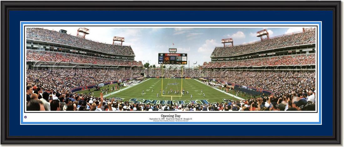 Tennessee Titans Adelphia Stadium Opening Day Titans Nfl