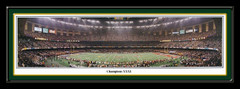 Green Bay Packers Champions XXXI Panoramic Print matted
