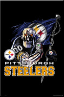 Steeler Logo Framed Pittsburgh Poster