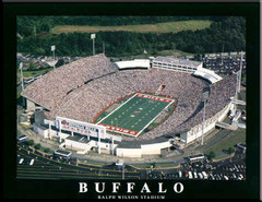 Buffalo Bills Ralph Wilson Stadium Framed Aerial Photo