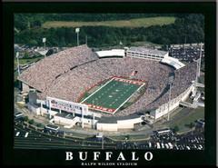 Buffalo Bills Ralph Wilson Stadium Framed Aerial Photo