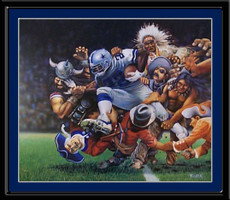 Dallas Cowboys The Ultimate Challenge Framed Art Print