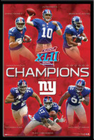 New York Giants - Super Bowl Super Stars Poster