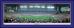 New York Giants Super Bowl XLII Panoramic Print
