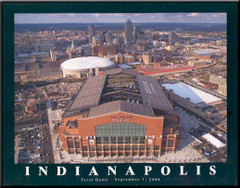 Indianapolis Colts - Lucas Oil Stadium Aerial Photo