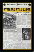 Steelers Still Super Headlines Super Bowl X