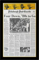Steelers Four Down, 80s to Go Headlines SB XIV