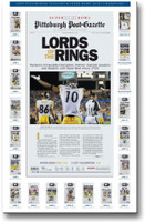 Steelers Lords of the Rings Newspaper Headlines