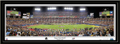 Pittsburgh Steelers Super Bowl XLIII Panoramic Picture matted