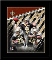 Drew Brees and Company New Orleans Super Bowl Saints