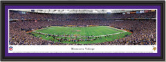 Minnesota Vikings Hubert H. Humphrey Metrodome Football Poster