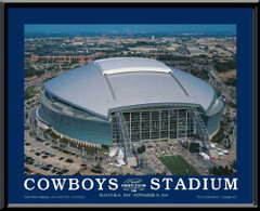 Dallas Cowboys Stadium Inaugural Day Large Picture
