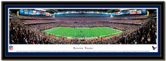 Houston Texans Reliant Stadium NFL Football Poster matted