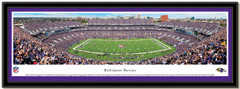 Baltimore Ravens M&T Bank Stadium Panoramic Poster matted