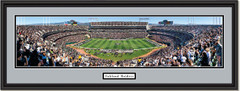 Raiders Oakland-Alameda County Coliseum NFL Framed Poster