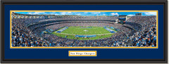 San Diego Chargers Qualcomm Stadium Panoramic NFL Poster
