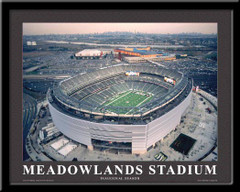 New York Jets MetLife Stadium Aerial Stadium Poster