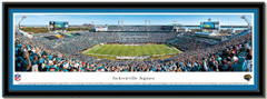 Jacksonville Jaguars EverBank Field Panoramic NFL Poster matted
