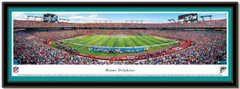 Miami Dolphins Panoramic Sun Life Stadium Panoramic Poster matted