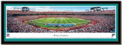 Miami Dolphins Panoramic Sun Life Stadium Panoramic Poster matted