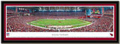 Arizona Cardinals University of Phoenix Stadium Panoramic Poster matted