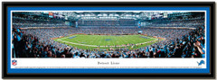 Detroit Lions Ford Field Panoramic NFL Poster matted