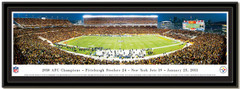 Pittsburgh Steelers AFC Champions vs NY Jets Framed Picture matted