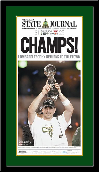 Champs Lombardi Trophy Returns To Titletown Headlines