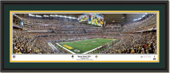 Green Bay Packers Super Bowl XLV Champions Panoramic Poster