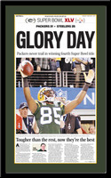 Green Bay Glory Day Super Bowl Headlines