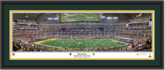 Green Bay Packers Super Bowl XLV 1st and 10 Framed Picture