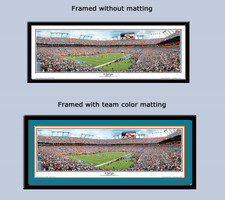 Miami Dolphins Sun Life Stadium Panoramic Framed Print