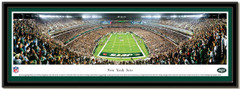 New York Jets MetLife End Zone Stadium Poster matted