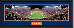 Denver Broncos Rocky Mountain Thunder Framed Picture